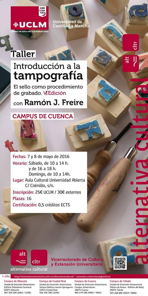Curso Tampografia VI Edición. Ramón J. Freire